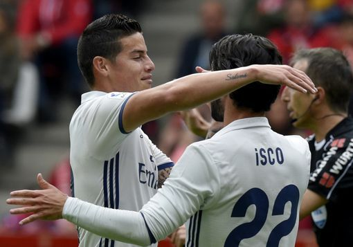 Watch the highlights of Gijon vs Real Madrid (2-3)